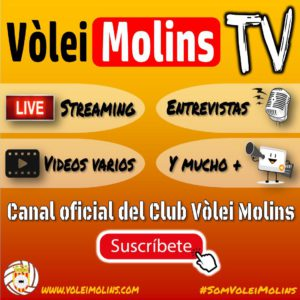CANAL VOLEI MOLINS TV…